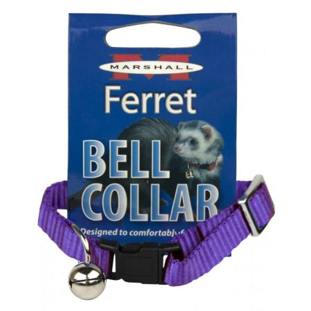 Marshall Marshall Ferret Bell Collar - Purple