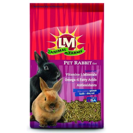 L&M Animal Farms LM Animal Farms Pet Rabbit Diet