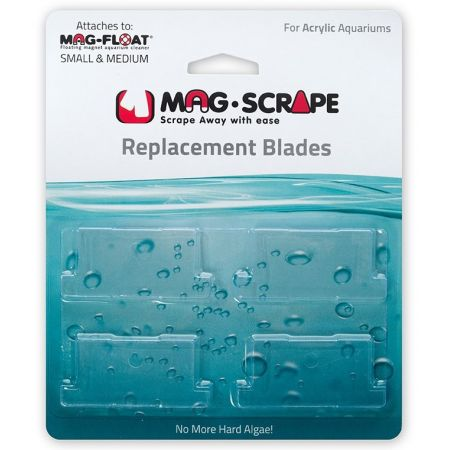 Mag Float Replacement Blades for Small & Medium Acrylic Cleaners