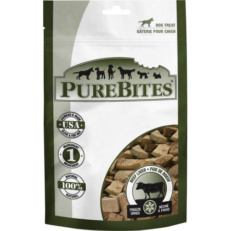 PureBites PureBites Beef Liver Freeze Dried Dog Treats