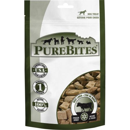 PureBites Beef Liver Freeze Dried Dog Treats alternate view 4