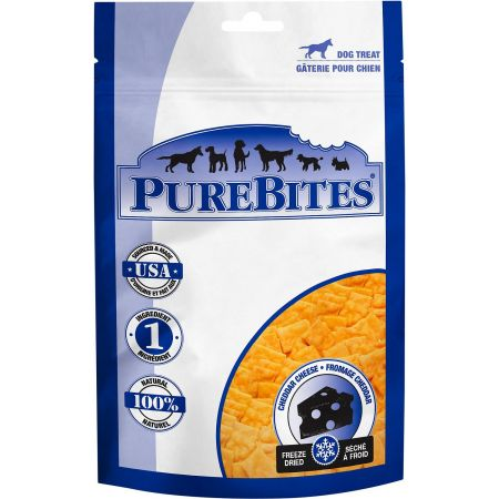 PureBites Cheddar Cheese Freeze Dried Dog Treats alternate view 2