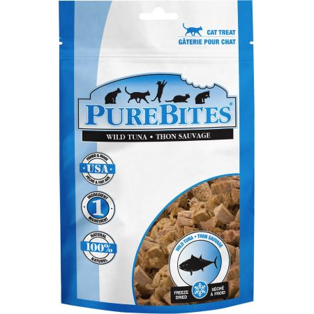 PureBites PureBites Wild Tuna Freeze Dried Cat Treats