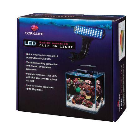 Coralife LED Marine Aquarium Clip-On Light