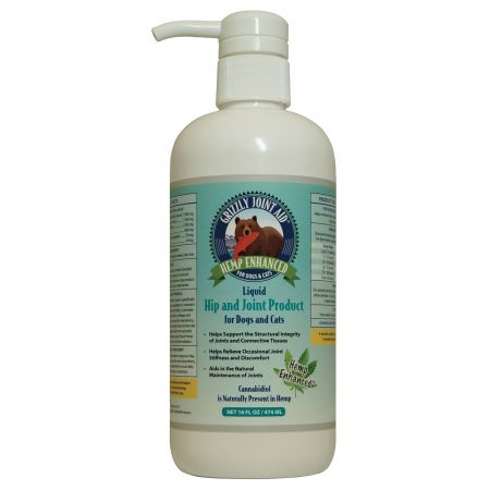 Grizzly Pet Products Grizzly Hemp Enhanced PCR Liquid Hip & Joint Product