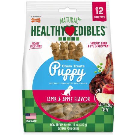 Nylabone Natural Healthy Edibles Puppy Chew Treats - Lamb & Apple Flavor alternate view 2