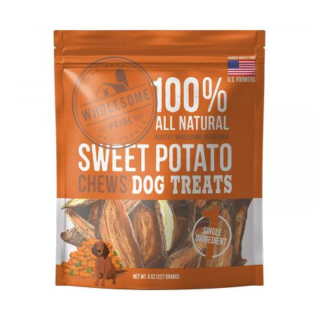 Wholesome Pride Sweet Potato Chews Dog Treats