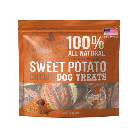Wholesome Pride Sweet Potato Chews Dog Treats alternate view 2