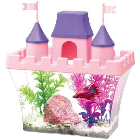 Aqueon Princess Castle Aquarium Kit for Betta