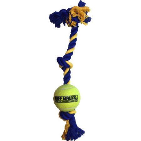 Petsport Mini 3-Knot Cotton Rope with Tuff Ball alternate view 1