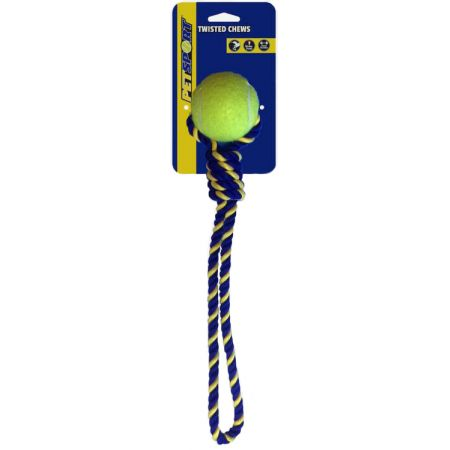 Petsport Knotted Cotton Rope Tug with Tuff Ball alternate view 1