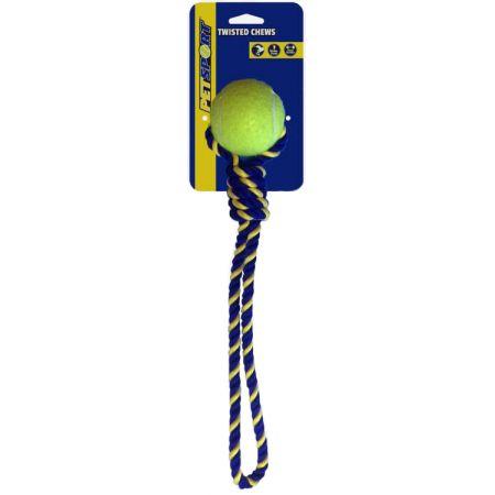 Petsport USA Petsport Knotted Cotton Rope Tug with Tuff Ball