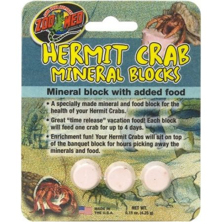 Zoo Med Zoo Med Hermit Crab Mineral Blocks