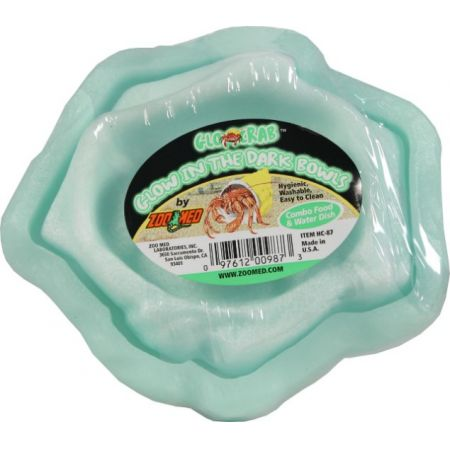 Zoo Med Zoo Med Laboratories Hermit Crab Combo Glow Bowl