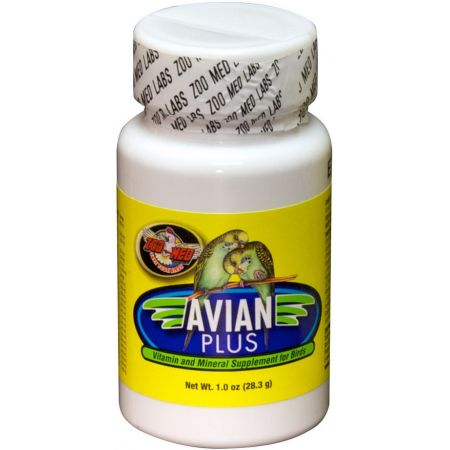 Zoo Med Zoo Med Avian Plus Bird Vitamin Supplement
