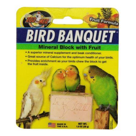 Zoo Med Zoo Med Bird Banquet Block Fruit Formula Small