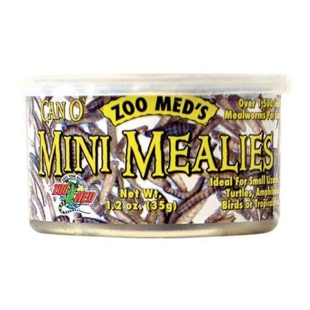 Zoo Med Can O Mini Mealies Pet Food