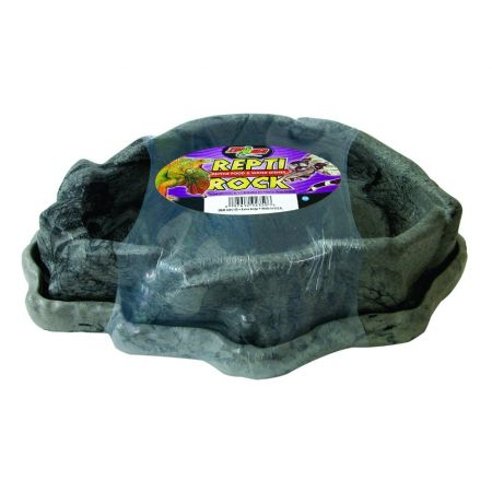 Zoo Med Combo Reptile Rock Food/Water Dish Extra Large alternate view 1