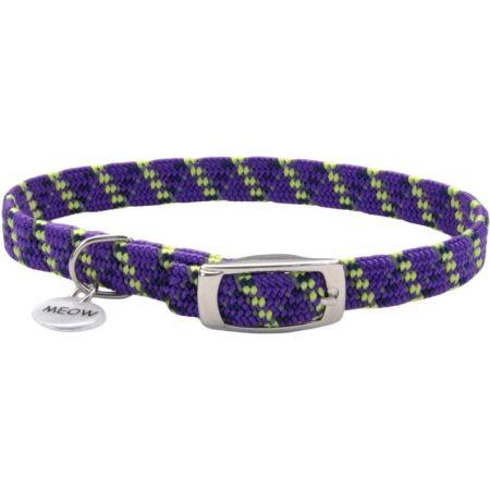 Coastal Pet Elastacat Reflective Safety Collar with Charm Purple