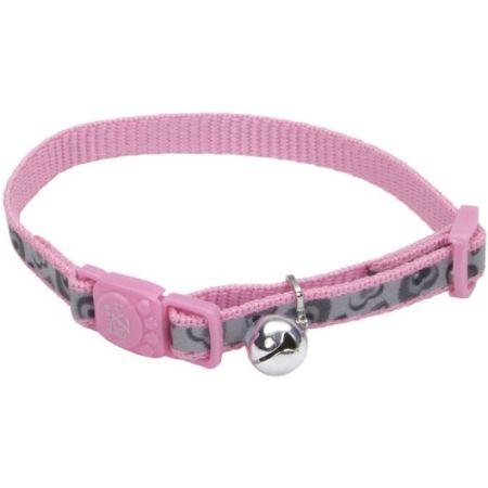 Coastal Pet Coastal Pet Lazerbrite Reflective Breakaway Cat Collar Pink Heart