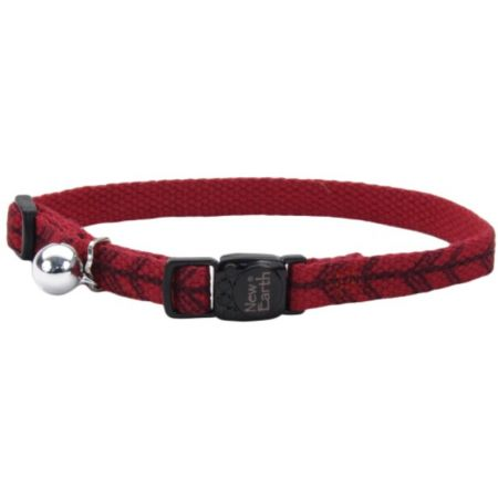 Coastal Pet New Earth Soy Adjustable Cat Collar - Red with Arrows