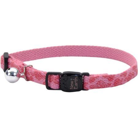 Coastal Pet Coastal Pet New Earth Soy Adjustable Cat Collar - Rose