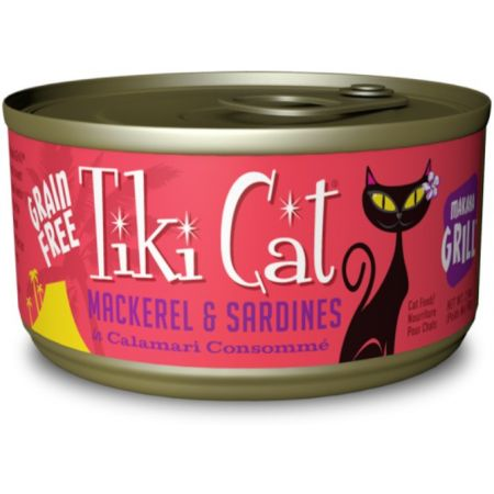Tiki Cat Tiki Cat Mackerel & Sardines Cat Food