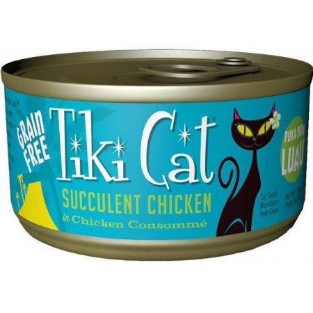 Tiki Cat Succulent chicken Cat Food alternate view 1