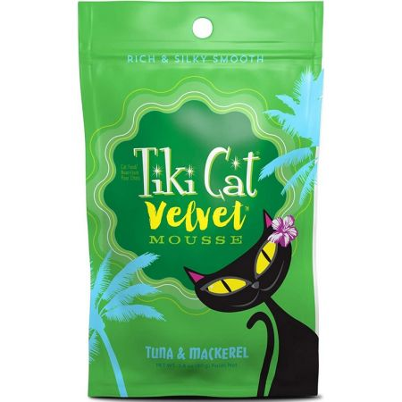 Tiki Cat Velvet Mousse Tuna & Mackerel Cat Food alternate view 1