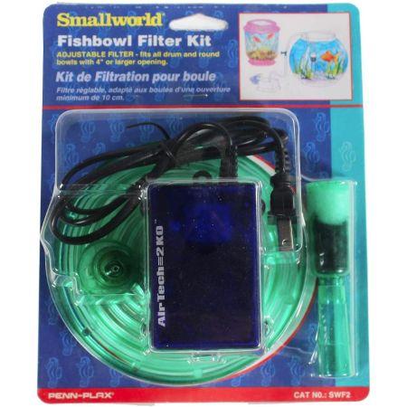 Penn Plax Small World Fishbowl Filter Kit