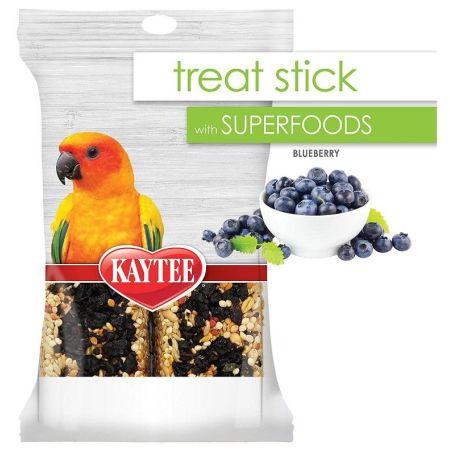 Kaytee Superfoods Avian Treat Stick - Blueberry