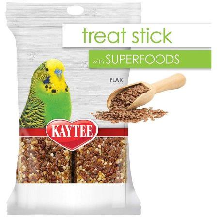 Kaytee Kaytee Superfoods Avian Treat Stick - Flax