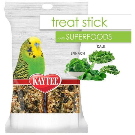 Kaytee Superfoods Avian Treat Stick - Spinach & Kale