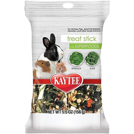 Kaytee Kaytee Superfoods Small Animal Treat Stick - Spinach & Kale